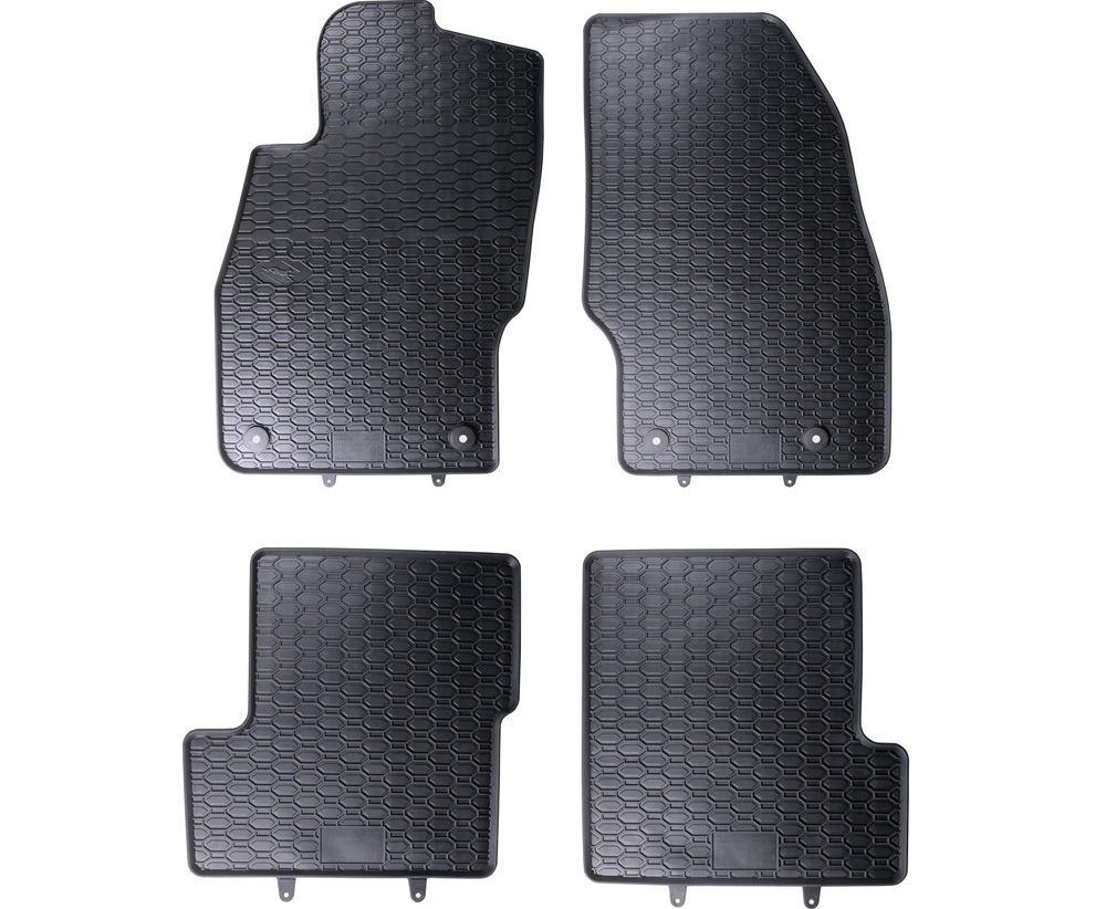 TAPPETI TAPPETINI IN GOMMA Opel Corsa D 2006-2014*