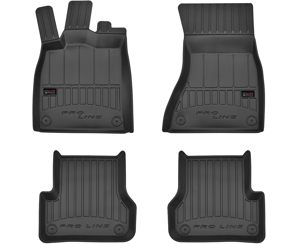 TAPPETI TAPPETINI GOMMA 3D PRO-LINE per Audi A7 2010-2017 tipo Weathertech