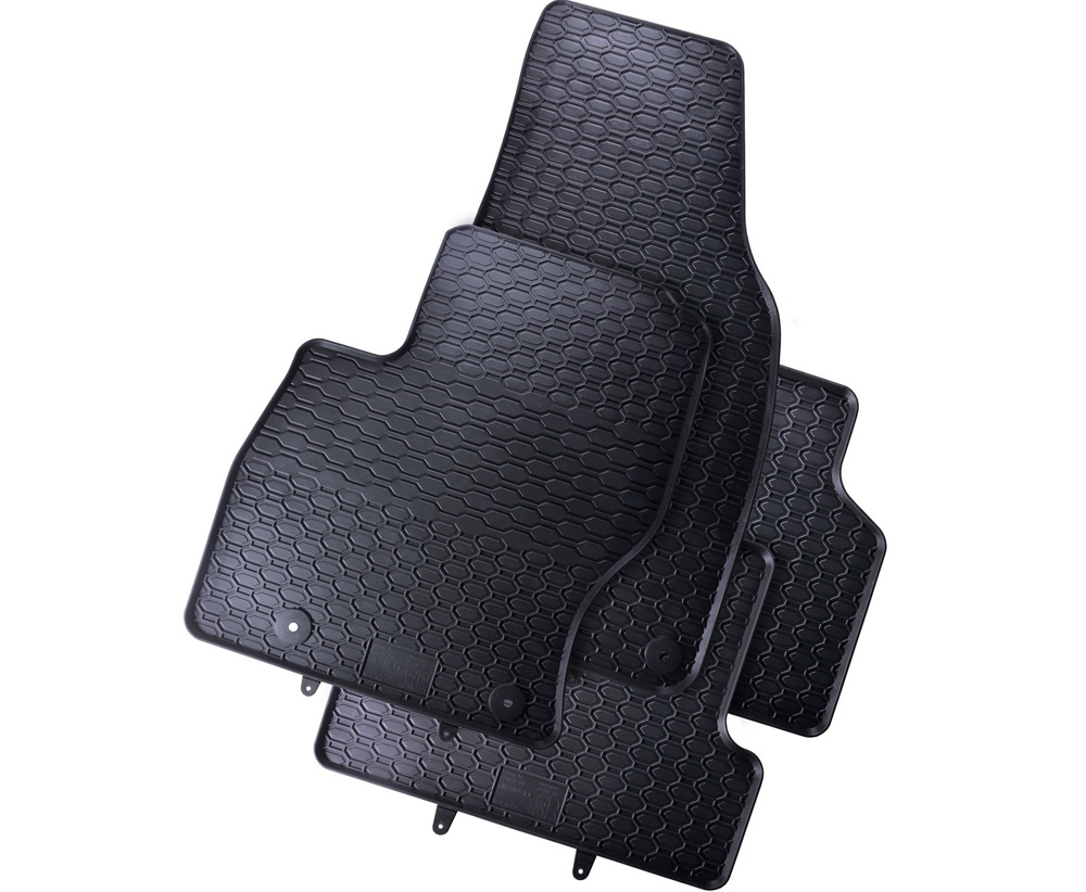 TAPPETI TAPPETINI IN GOMMA Ford Focus II 2004-2011 +