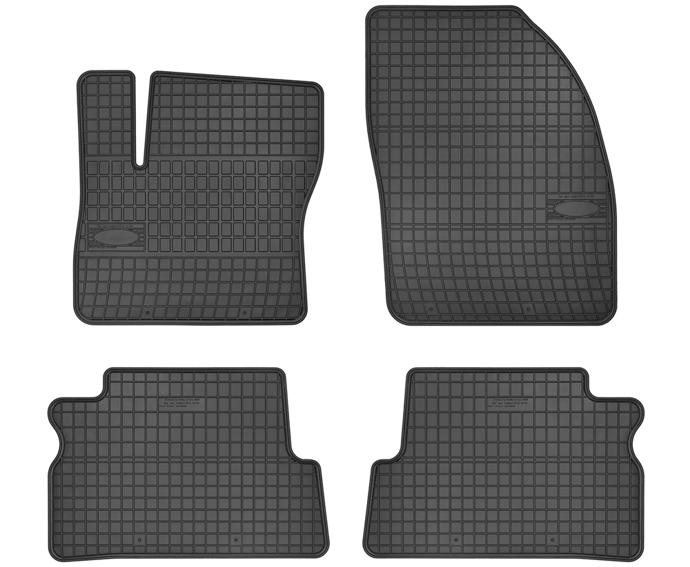 TAPPETI TAPPETINI IN GOMMA FORD C-Max 2003-2010
