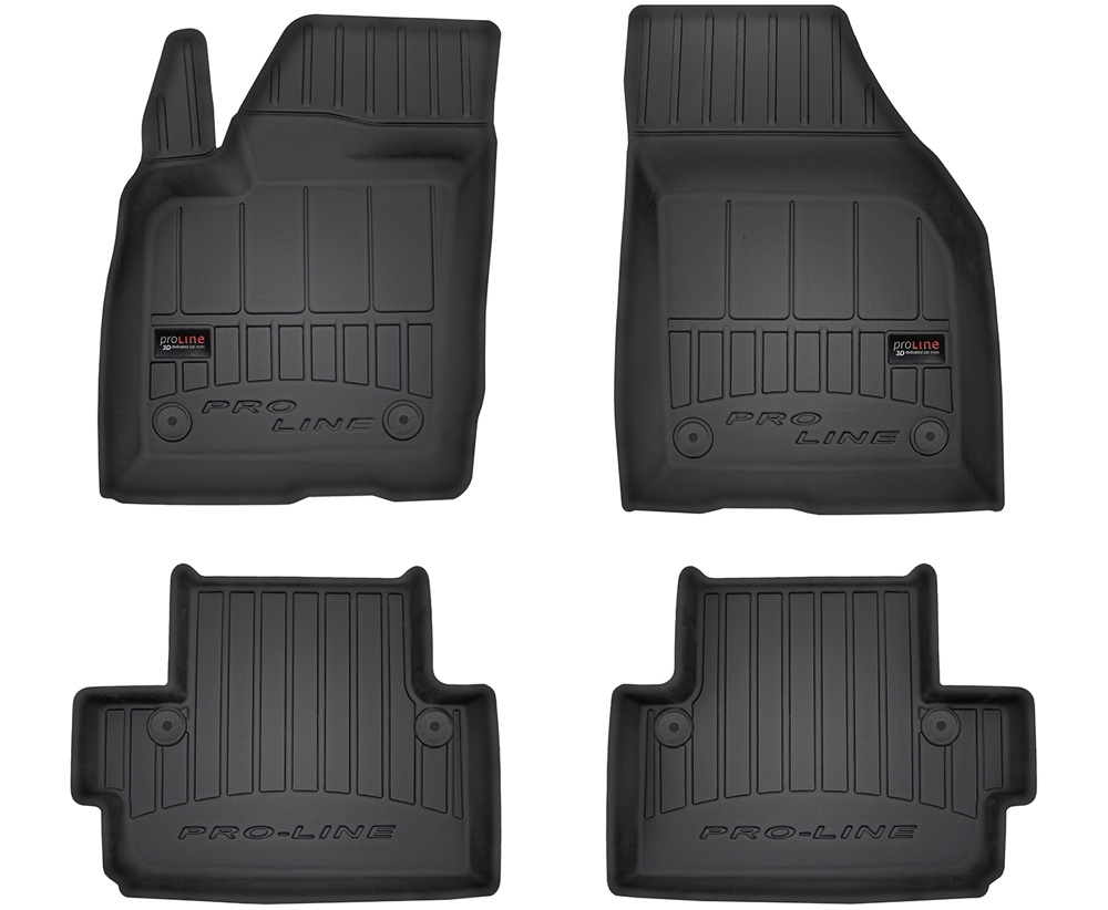 TAPPETI TAPPETINI GOMMA 3D PRO-LINE per VOLVO C30 2006-2012 tipo Weathertech