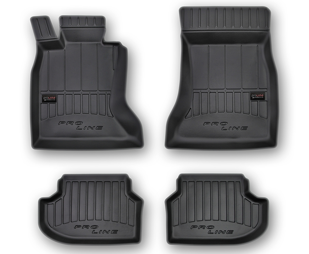 TAPPETI TAPPETINI GOMMA 3D PRO-LINE per BMW 5 F10 F11 13-17 tipo Weathertech