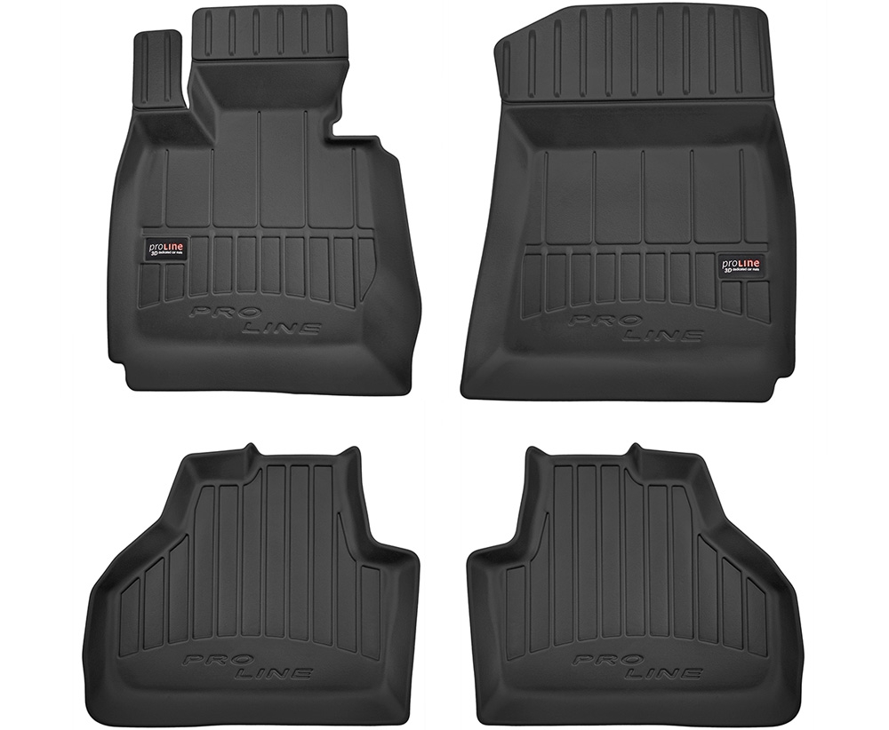 TAPPETI TAPPETINI GOMMA 3D PRO-LINE per BMW X3 F25 2010-2017 tipo Weathertech
